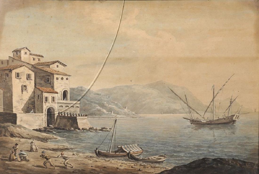Late 18th Century English School. A Mediterranean