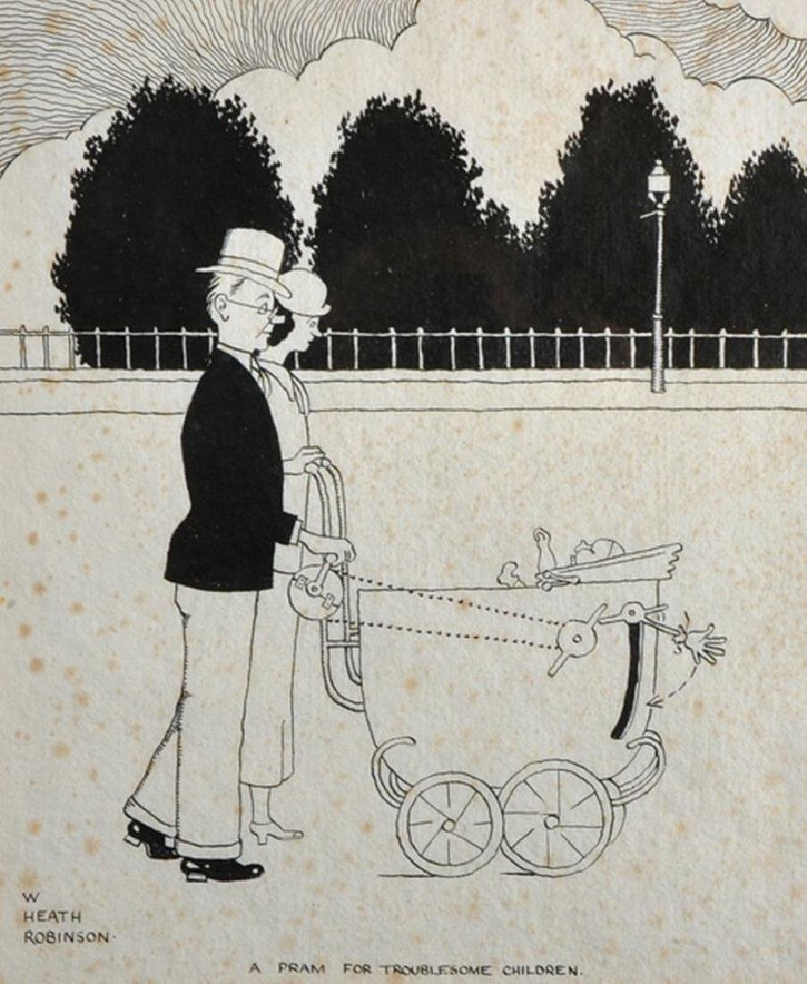 "William Heath Robinson (1872-1944) British. ""A Pram for"