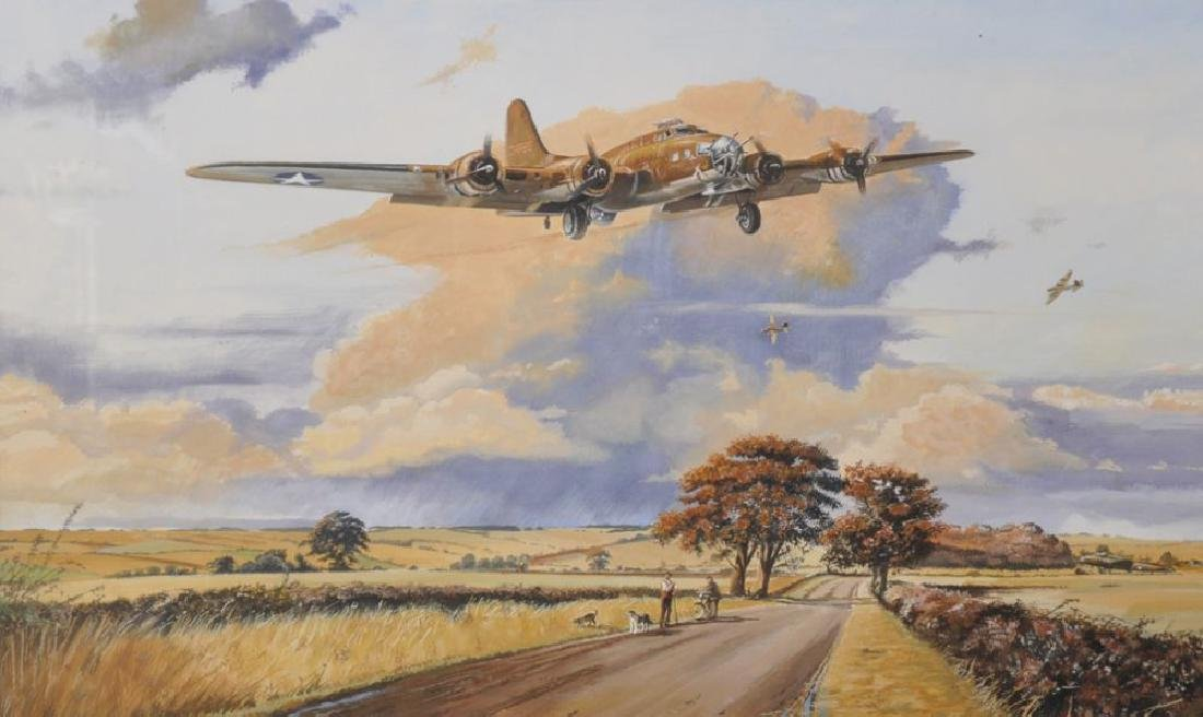 "Colin Doggett (1947     ) British. ""B17"", (after Robert"