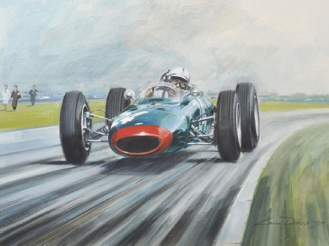 "Colin Doggett (1947    ) British. ""John Surtees on his"