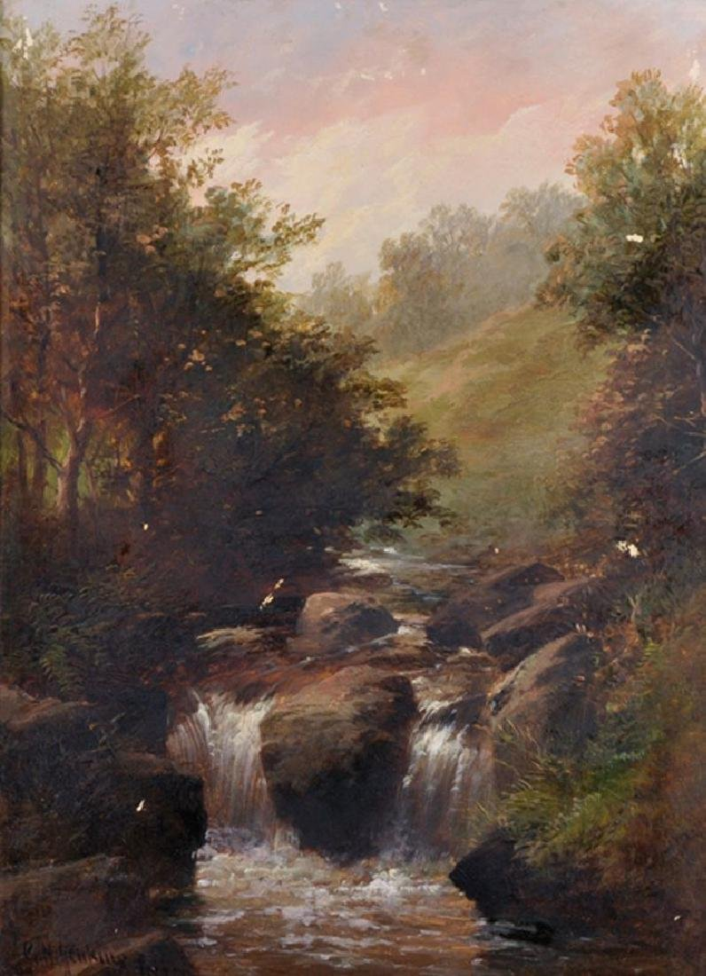 George Henry Jenkins (1843-1914) British. A Rocky River