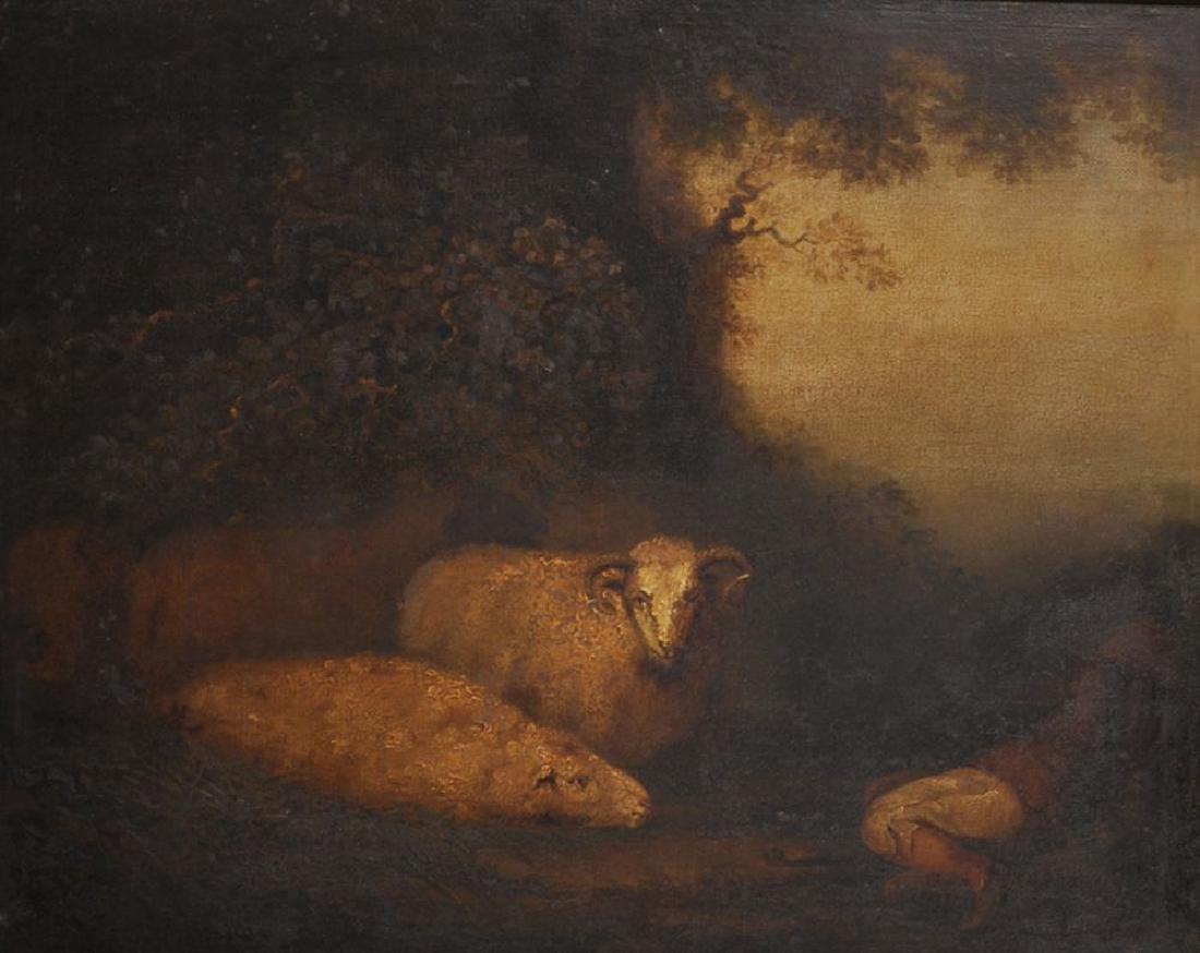 Circle of Samuel Palmer (1805-1881) British. A Young