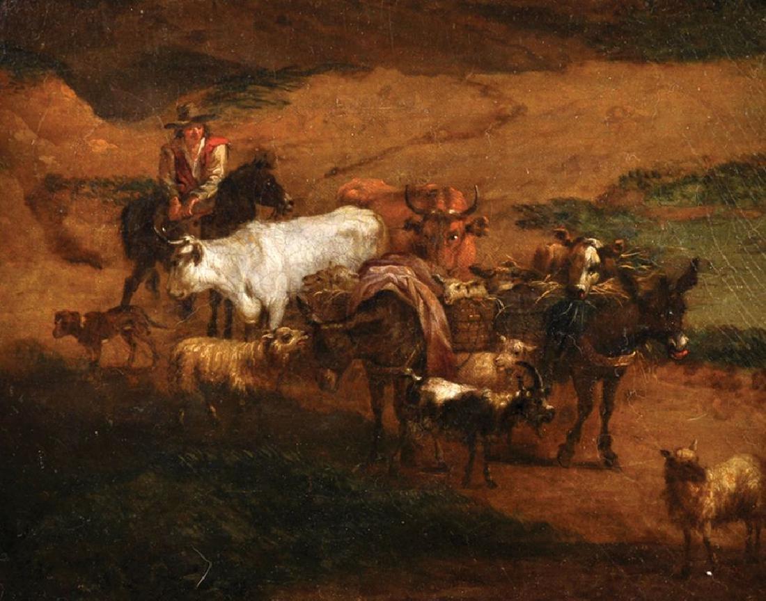 Attributed to Abraham Jansz Begeyn (1637-1697) Dutch. A