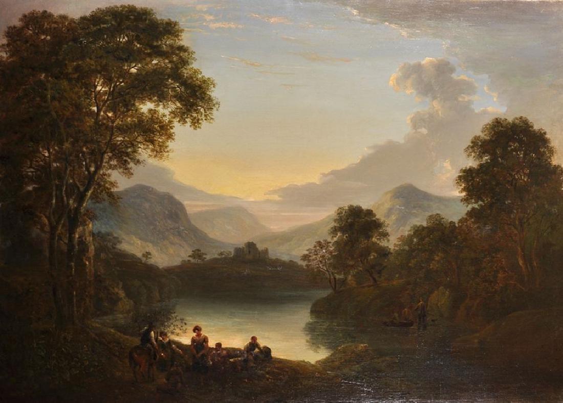 William Traies (1789-1872) British. A Mountainous River