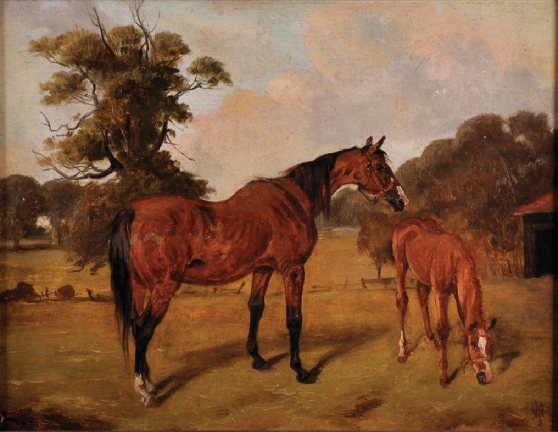 John Alfred Wheeler (1821-1903) British. A Mare and