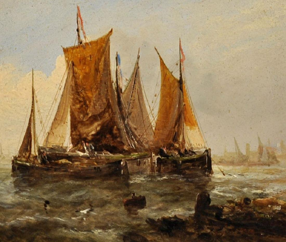 George Knight (act.1872/1892) British. Fishing Boats in