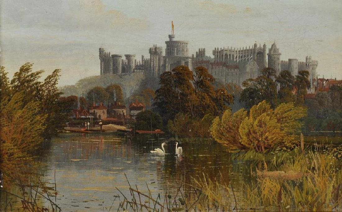 Robert Allan (19th-20th Century) British. A View of