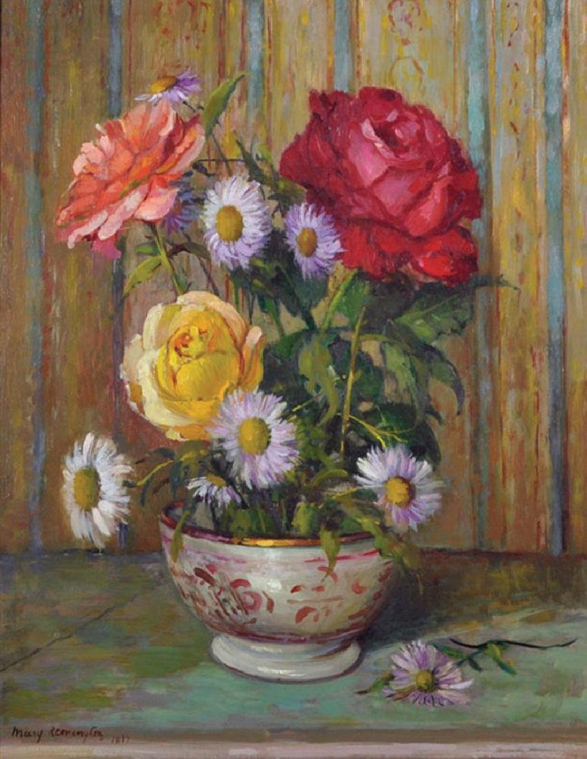 Mary Remington (1910-2004) British. Still Life of