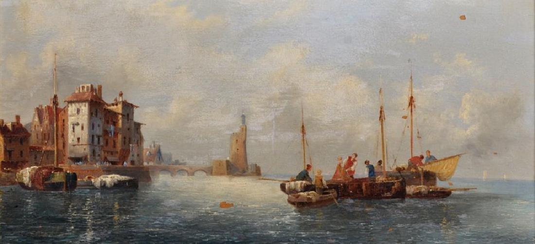 Anton Schoth (1859-1906) German. A Continental Coastal