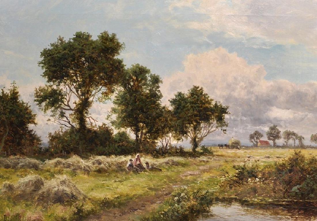 Daniel Sherrin (1868-1940) British. A Rest During