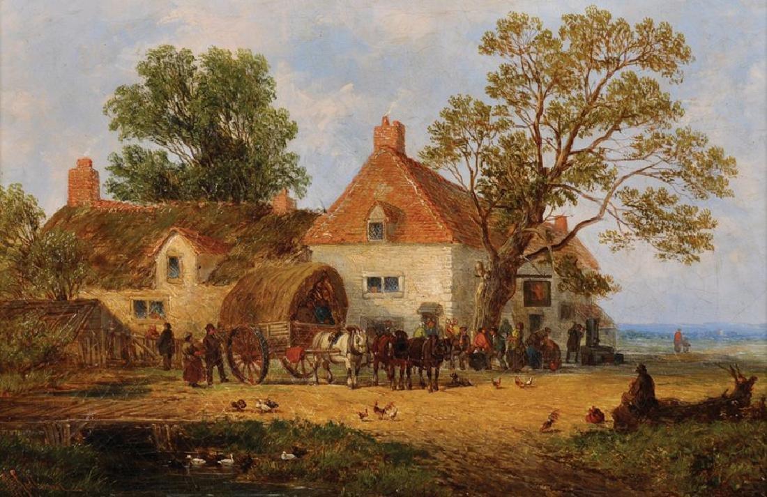 John Holland (act.1831-1879) British. A River