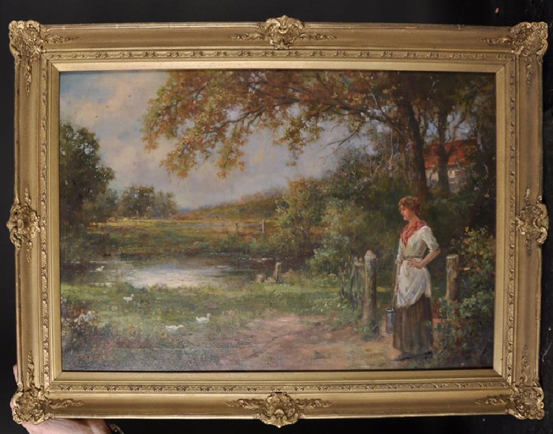 Stanley Leighton (19th-20th Century) British. A Woman - 2