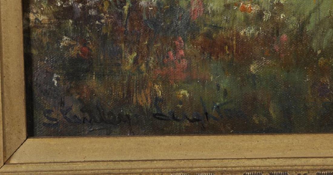 Stanley Leighton (19th-20th Century) British. A Woman - 3