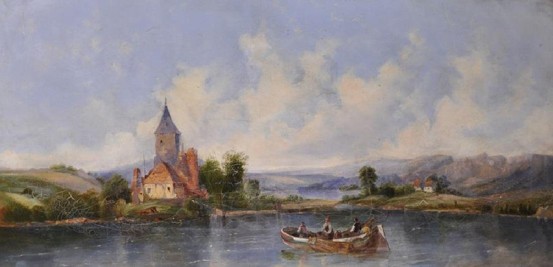 A...M...S...Marx  (19th Century) British. A Rowing Boat
