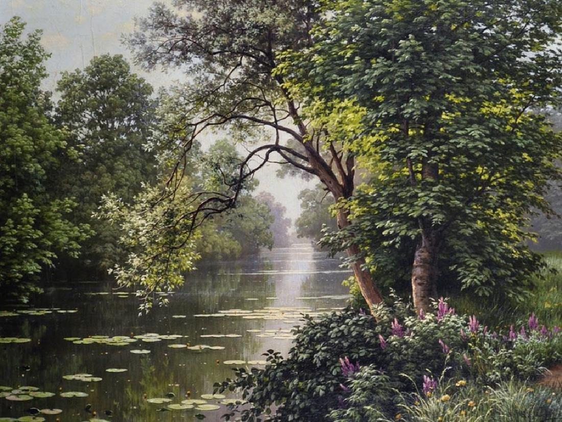 "Rene Charles Edmond His (1877-1960) French. ""Reflets du"