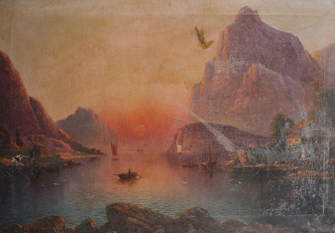 Niels Hans Christiansen (1850-1922) Danish. Rowing Boat