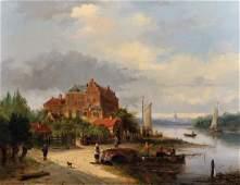 Charles Henri Joseph Leickert (1816-1907) Belgian. A
