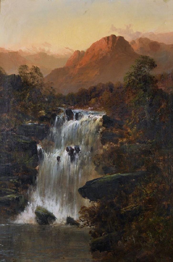 Frank E Jamieson (1834-1899) British. A Mountainous