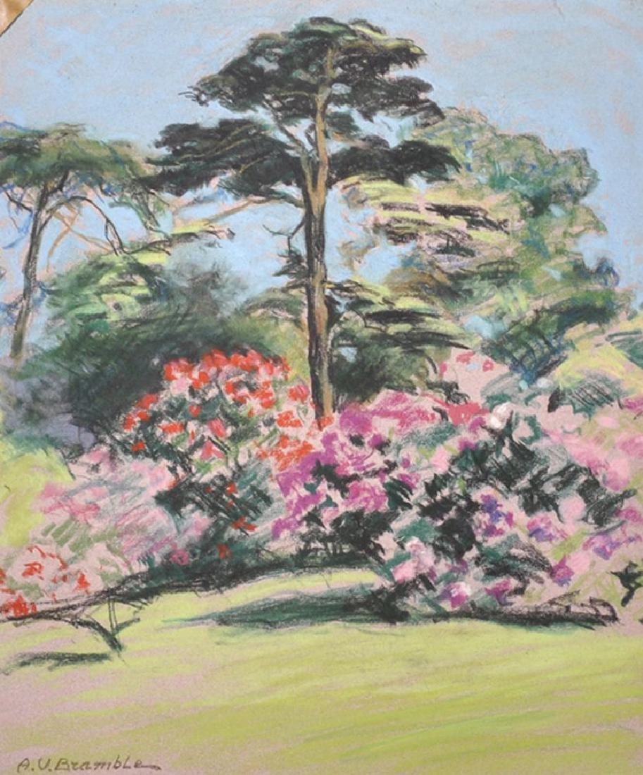 A...V...Bramble (20th Century) British. Flowering Trees