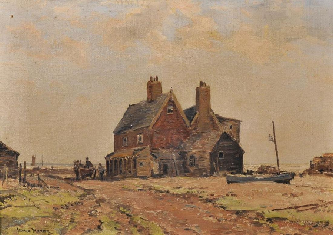 "George Graham (1881-1949) British. ""Ship Inn"", With"