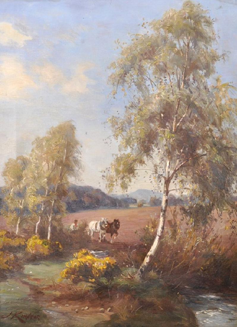 James Scott Kinnear (c.1846-1917) British. A River