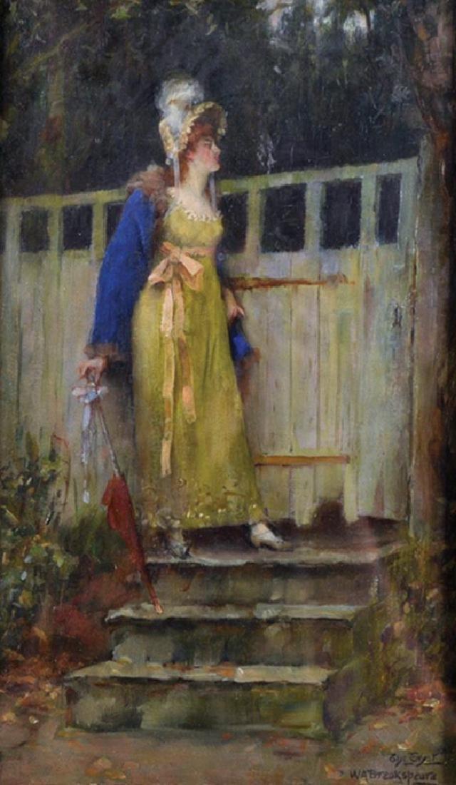 William Arthur Breakspeare (1855-1914) British. 'The