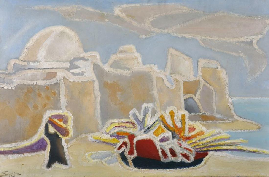Jean Simian (1910-1991) Algerian. An Abstract
