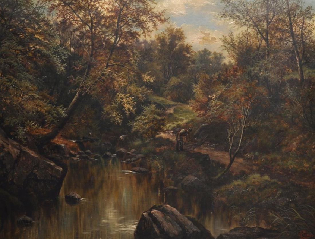 Henry Livings (19th-20th Century) British. A River