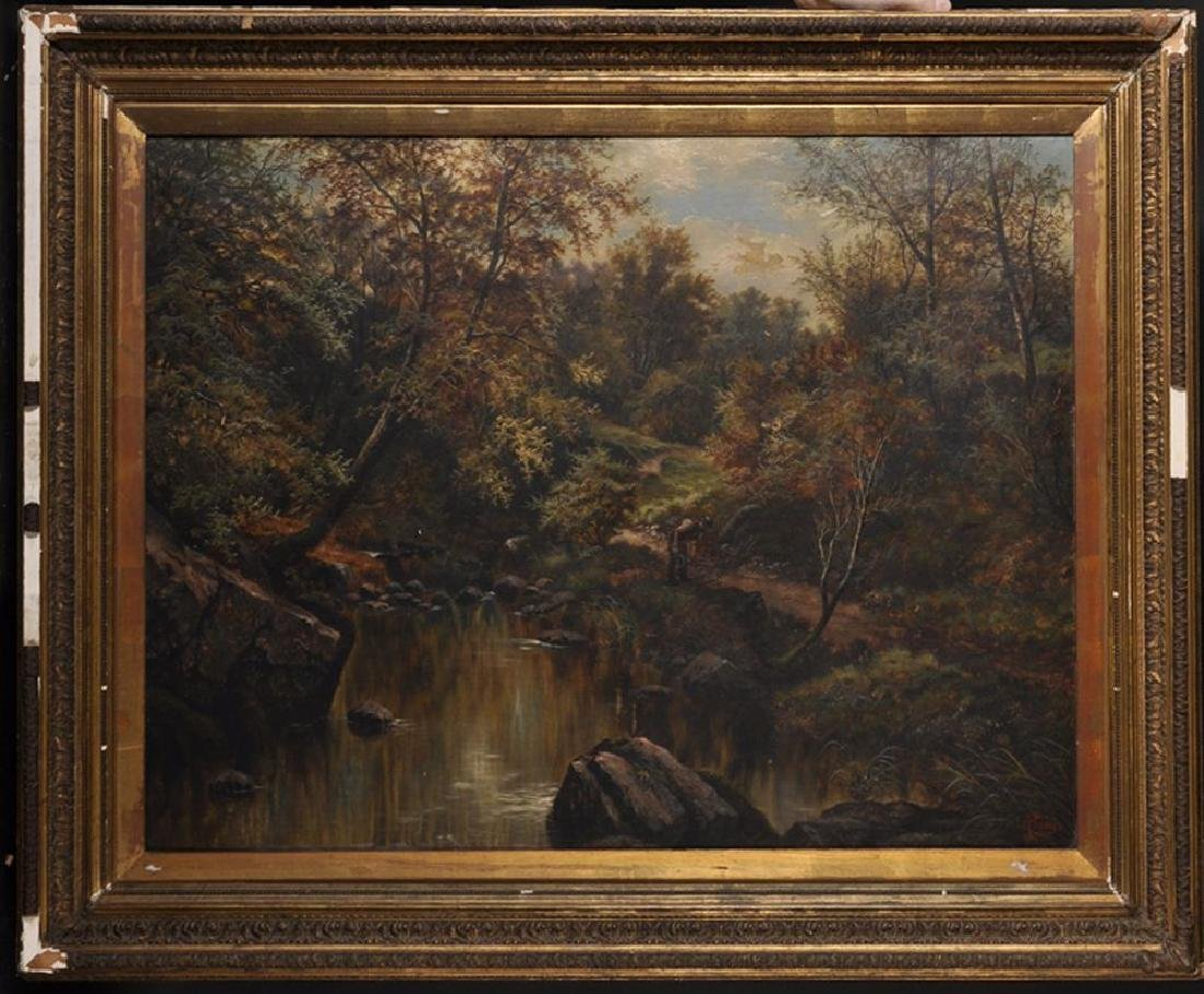 Henry Livings (19th-20th Century) British. A River - 2