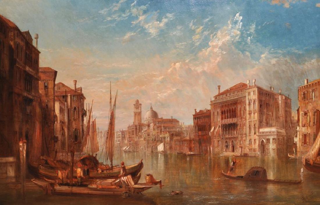"Alfred Pollentine (1836-1890) British. ""Barbarigo"