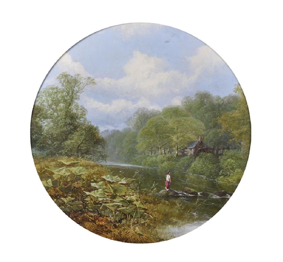 E... Taylor (19th-20th Century) British. A Tranquil