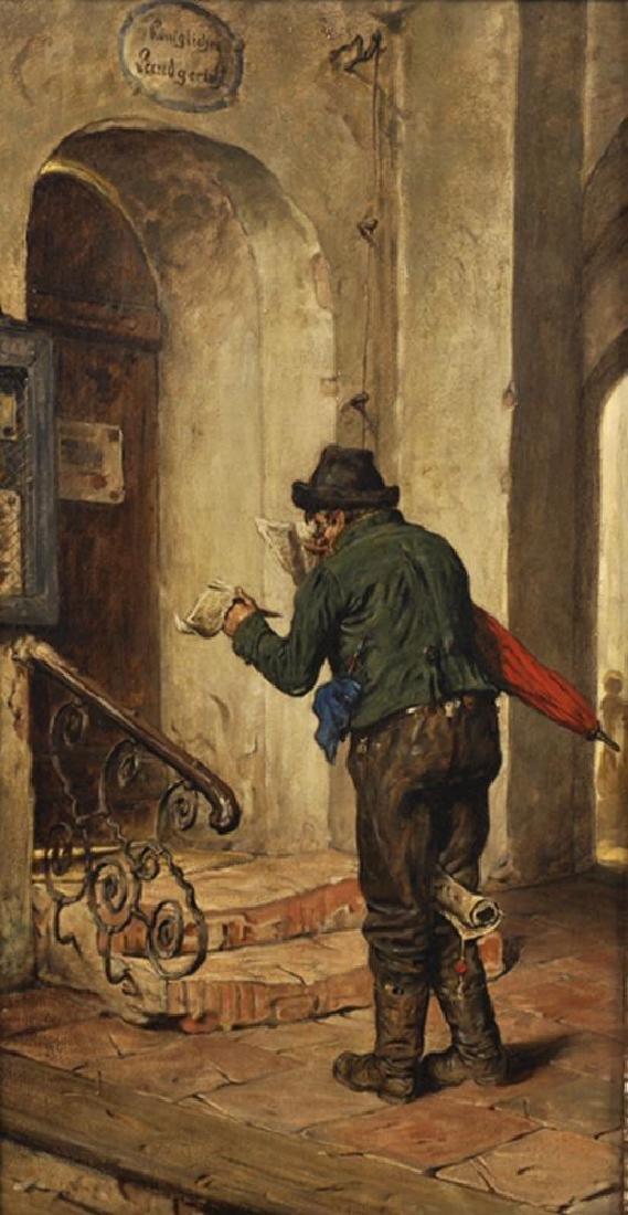 """G. Hugo Kotschenreiter (1854-1908) German. """"The"""