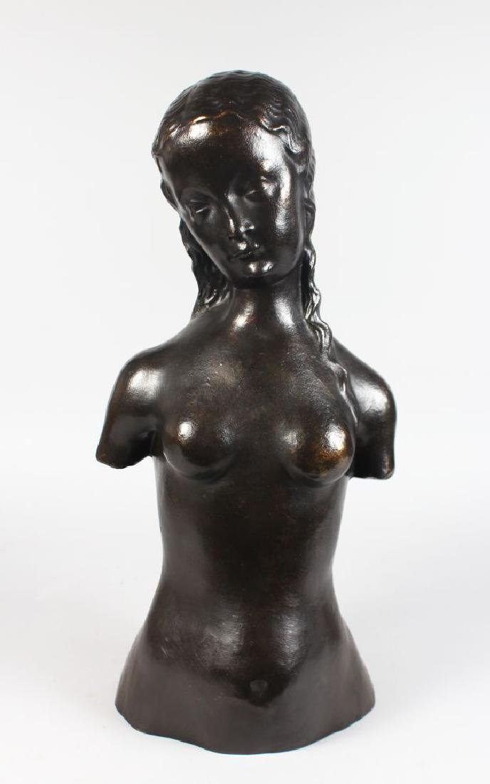 AFTER HENRI MATISSE (1869-1954) FRENCH  A BRONZE FEMALE