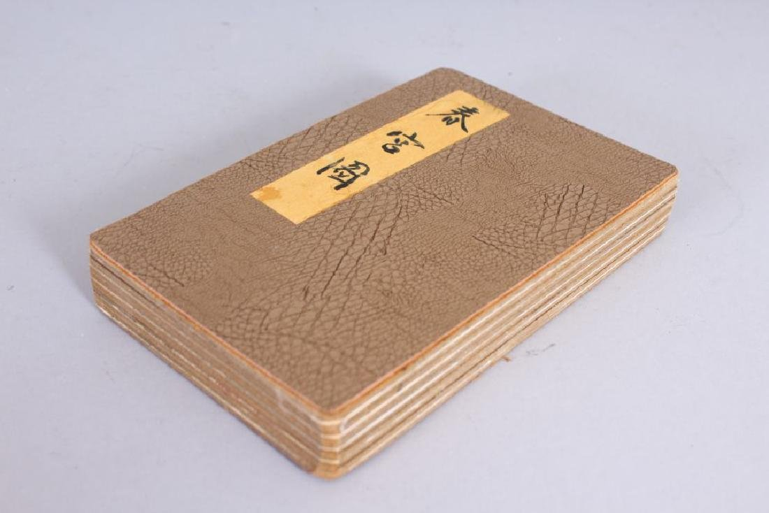 A CHINESE EROTIC BOOK.  5ins wide.