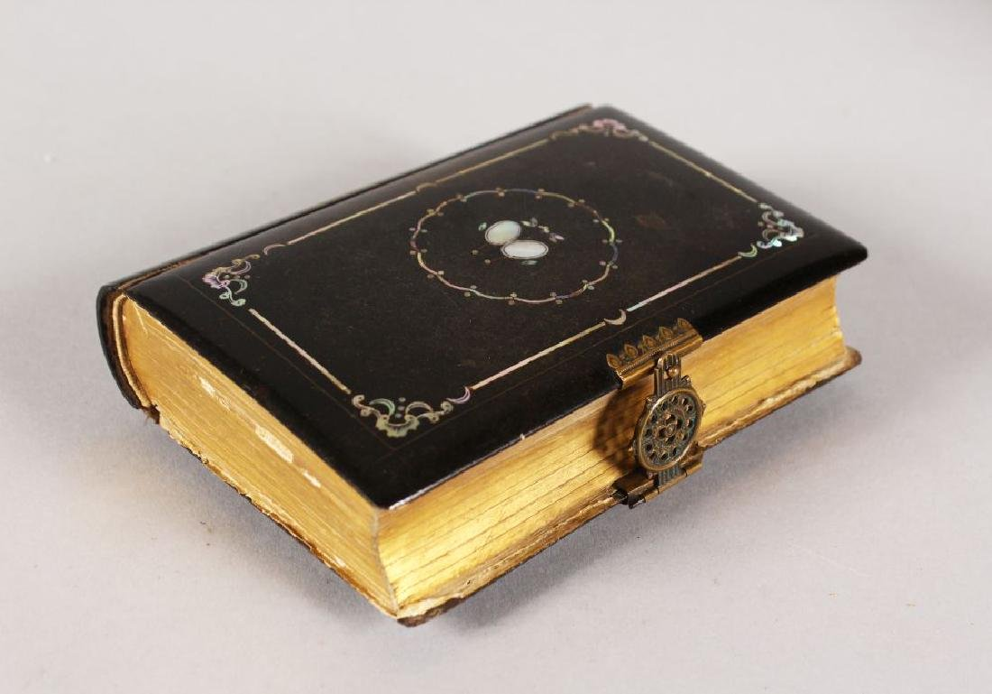 A PRAYER BOOK, DATED 1866.