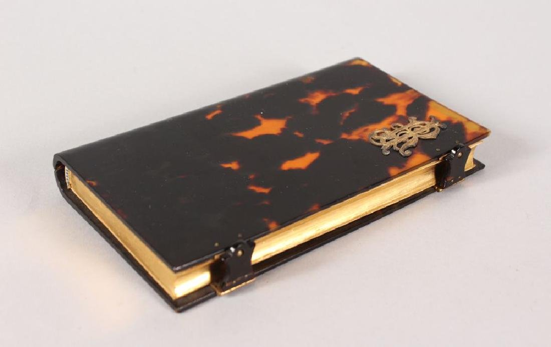 A TORTOISESHELL PRAYER BOOK.