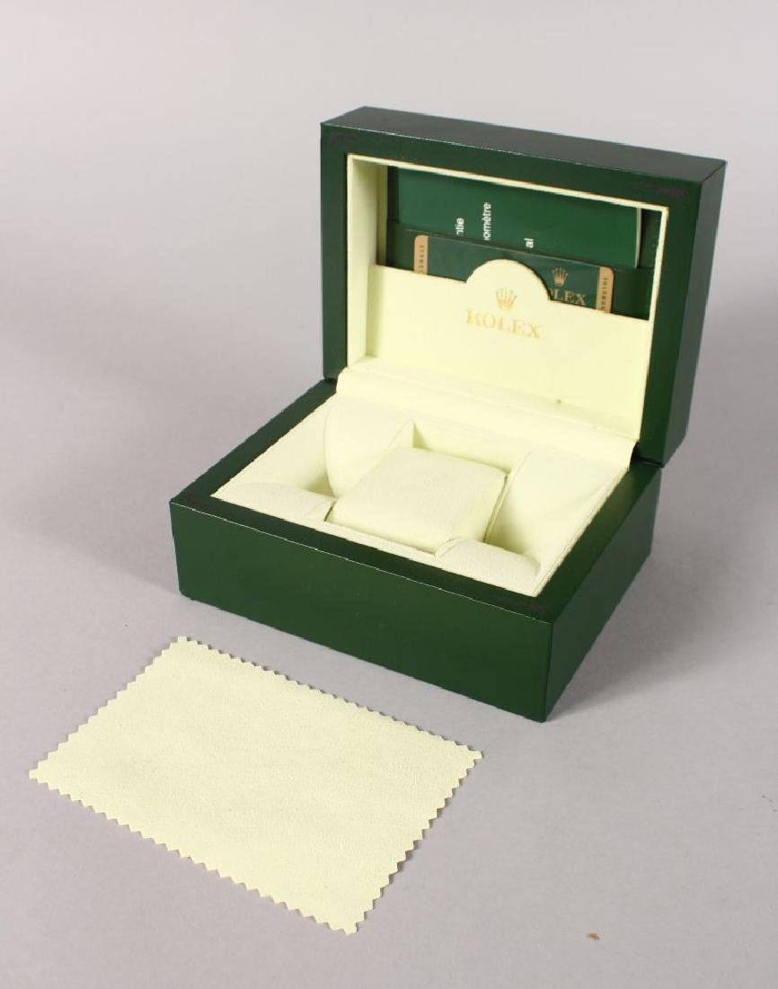 A ROLEX LEATHER BOX.