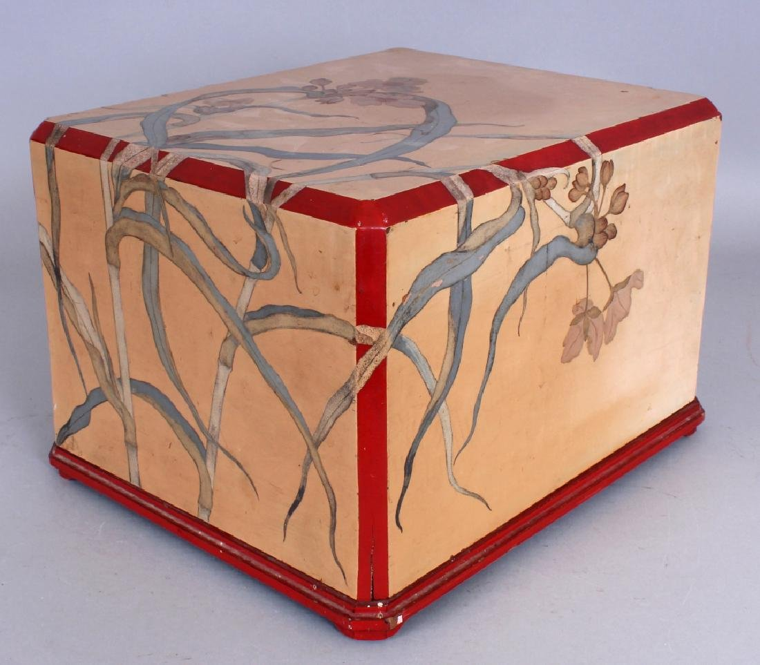 A VERY UNUSUAL EARLY 20TH CENTURY JAPANESE ART NOUVEAU