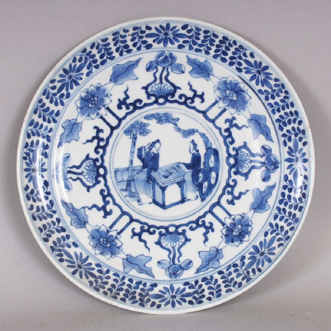 ANOTHER 19TH CENTURY CHINESE BLUE & WHITE PORCELAIN