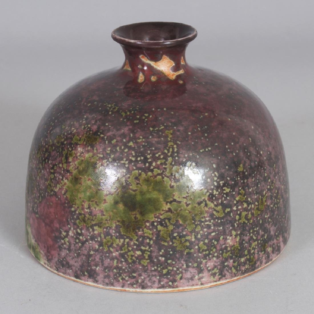 A CHINESE PORCELAIN BEEHIVE PORCELAIN WATER POT, the