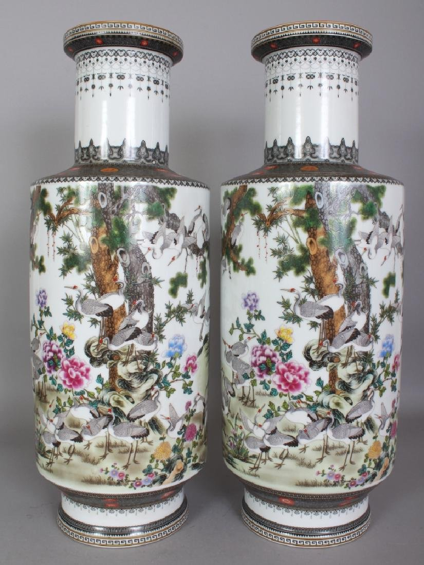 A LARGE PAIR OF GOOD QUALITY CHINESE REPUBLIC STYLE