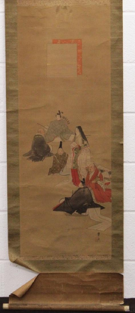 ANOTHER 19TH/20TH CENTURY JAPANESE SCROLL PAINTING ON