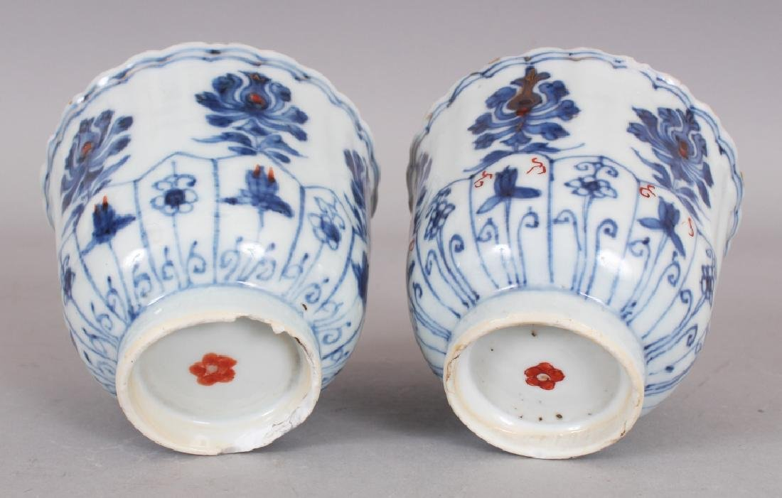 A PAIR OF EARLY 18TH CENTURY CHINESE KANGXI PERIOD - 4