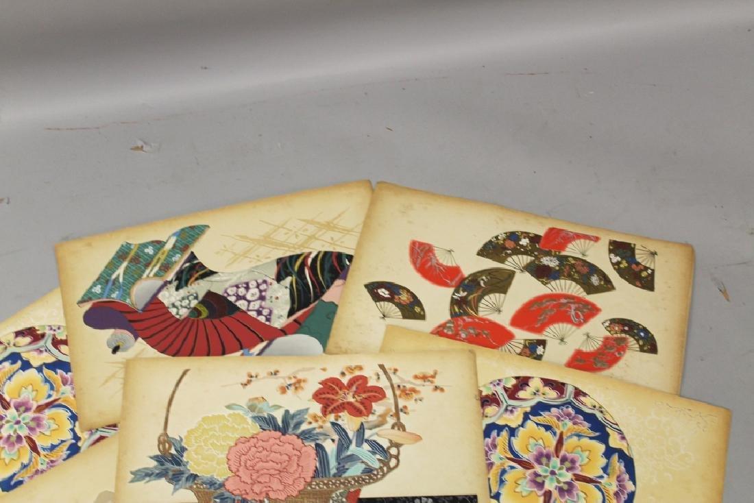 A GROUP OF TEN EARLY 20TH CENTURY JAPANESE KIMONO - 2