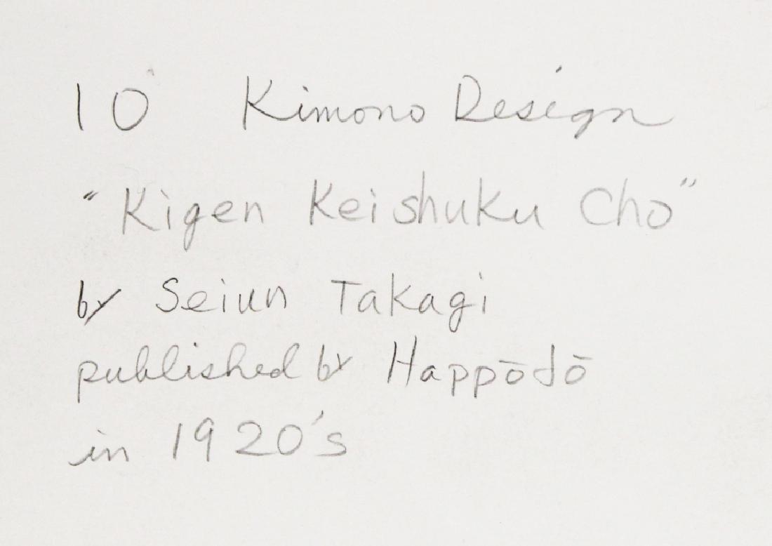 A GROUP OF TEN EARLY 20TH CENTURY JAPANESE KIMONO - 6