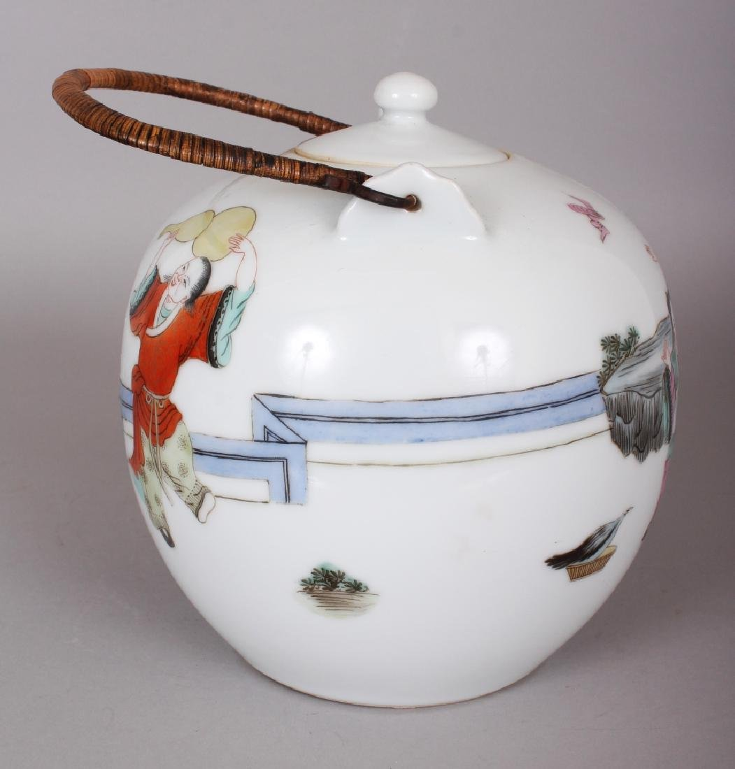 A LARGE EARLY 20TH CENTURY CHINESE FAMILLE ROSE - 4