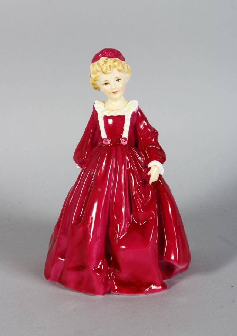"A ROYAL WORCESTER PORCELAIN FIGURE, ""GRANDMOTHER'S"