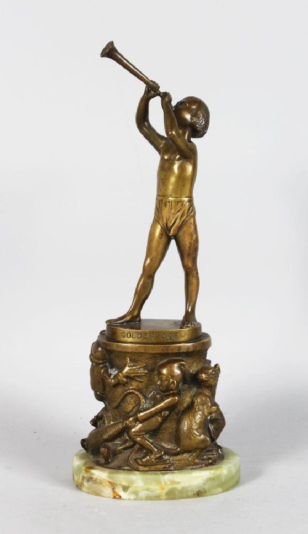 "BRUNO ZACH (1891-1945) AUSTRIAN, ""GOLDEN AGE"" a young"