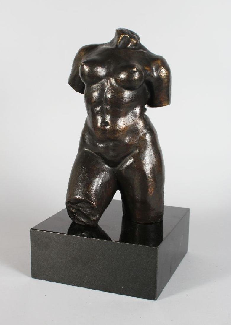 AFTER MAILLOL (1861-1944) FRENCH, A BRONZE TORSO,