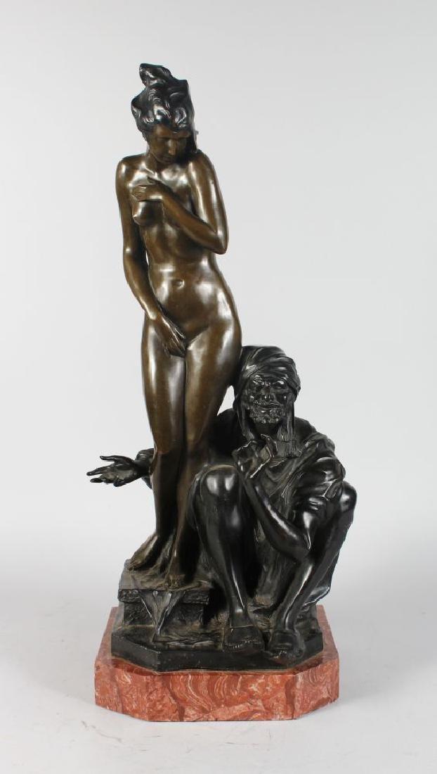 AFTER BRUNO ZACH (1891-1945) AUSTRIAN  THE SLAVE